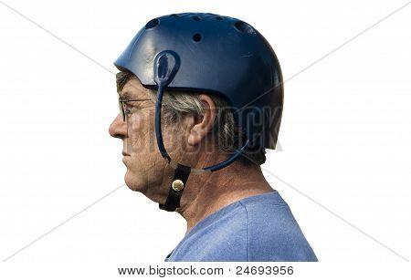 Vintage Seizure Helmet