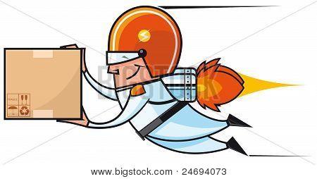 Rocket Deliveryman