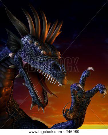 Dragonportrait