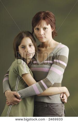 eine Mutter mit ihrer Tochter