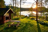 The Lakes In Finland Are A Great Place To Spend The Summer Holidays With The Whole Family poster