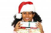 Happy Santa poster