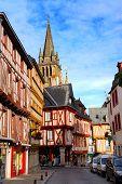Medieval Vannes, France. poster