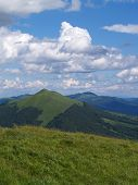 Polish Mountains Landscape poster