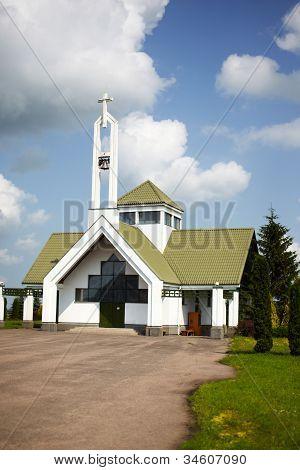 Chapel in Suodziai village