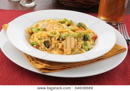 Chicken Linguini