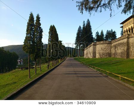 Cantacuzino Castle at Busteni, Romania