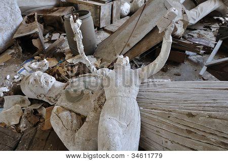 Headless Sculpture Ancient Goddess