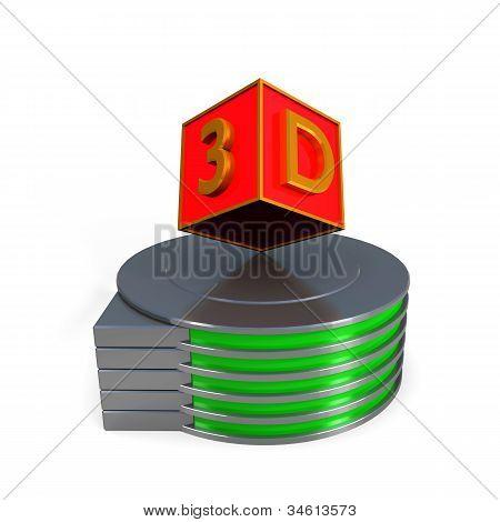 3D Colour Boxes
