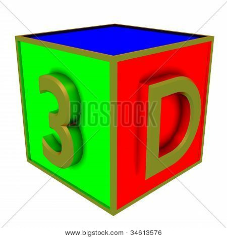 3D Colour Boxes