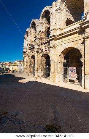 Roman Amphitheater Arles Bullfight