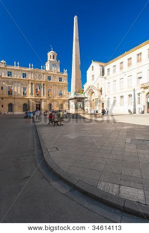 Arles Place De La Republique