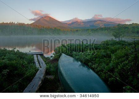 Mount Katahdin Sunrise