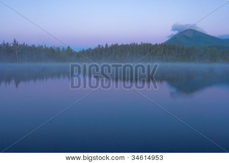 Early Dawn in Baxter State Park