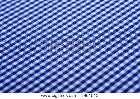 Blue Gingham Background