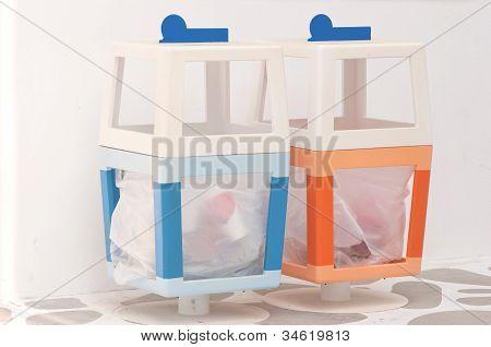 Colorful Dustbin