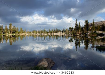Sierra Nevada Lake Reflection
