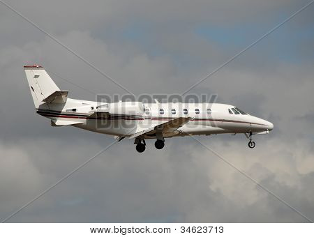 Modern Corporate Jet