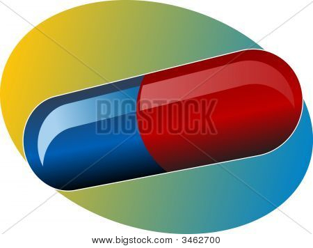 Illustration Of Medical Pill