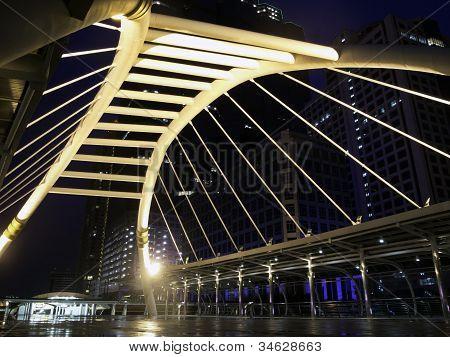Skywalk At Bangkok, Thailand