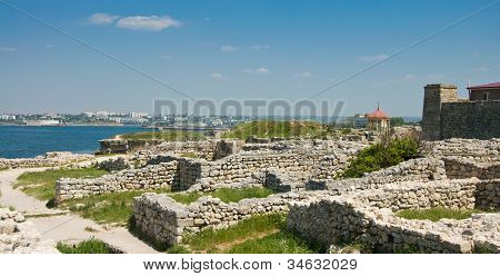 Chersonesus Near Sevastopol In Crimea, Ukraine.