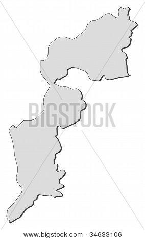 Map Of Burgenland (austria)
