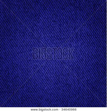 Dark Blue Jeans Texture Background