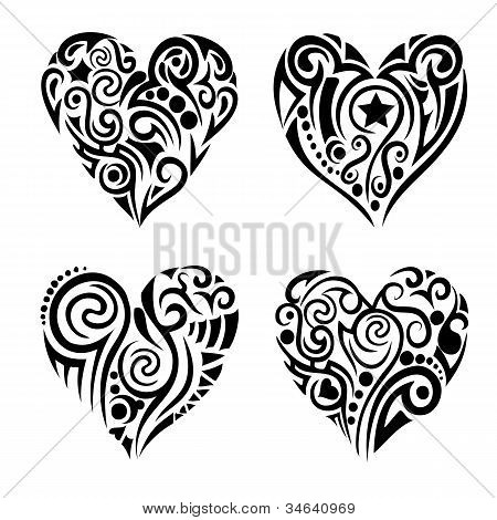 Tribel corações