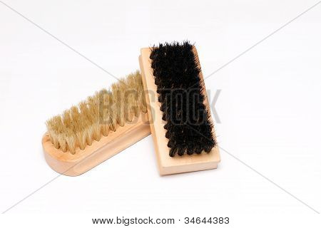 Pair Of Shoe Brushes