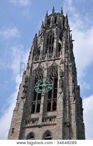 Harkness Turm an der Yale university