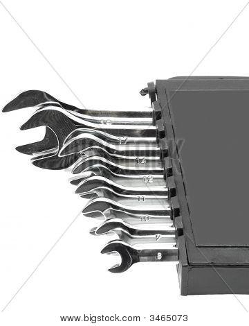 Chrome Vanadium Wrench Set