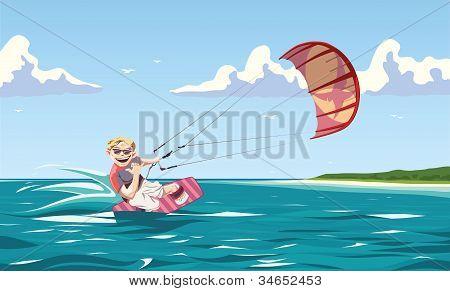 Wind catching