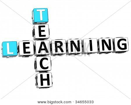 3D Teach Learning Crossword