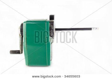 Old Green Stapler