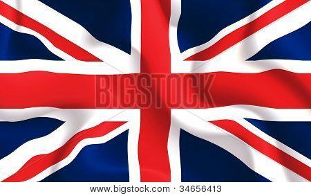 Uk Waving Flag