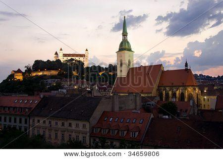 Bratislava In The Night