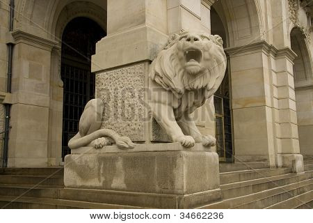 Lion of New Townhall, Hanover