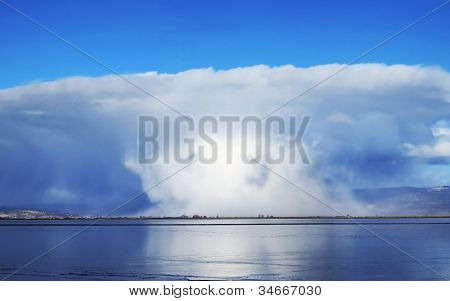 A Dramatic Cloudburst
