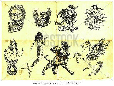 mythological characters III