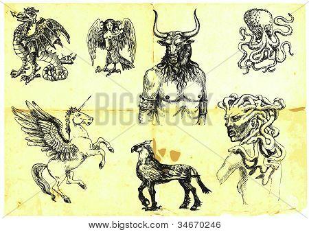 mythologische Zeichen ii
