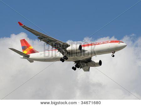 Avianca Colombia Passenger Jet Airplane
