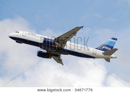 Jetblue Passenger Jet