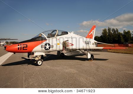 Navy Training Jet
