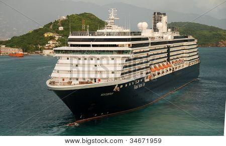 Holland America Cruise Ship Visiting Usvi