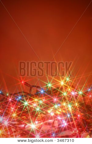 Twinkling Lights Background