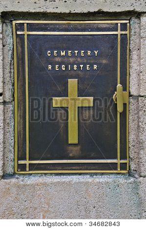 Cemetery Register