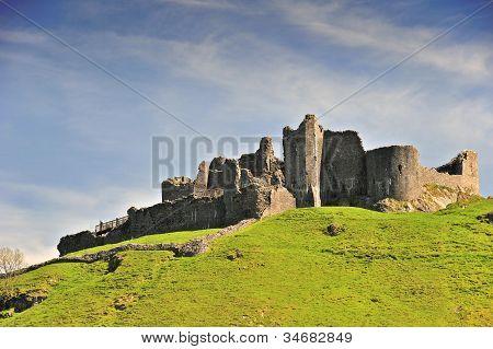 Carreg Cennen Castle In Wales