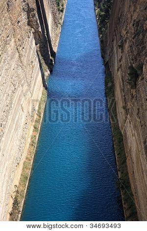 Corinthos Canal Water Passage