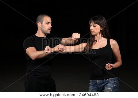 Instructor de artes marciales