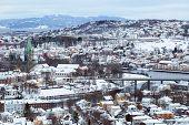 Winter In Trondheim poster